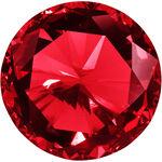 Star Nails Rhinestones Pack of 300 - Ruby