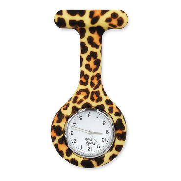 Funky Fobz Analogue Silicone Fob Watch Cheetah