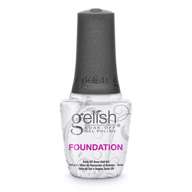 Gelish Soak-Off Nail Polish Foundation Soak-Off Base Gel 15ml