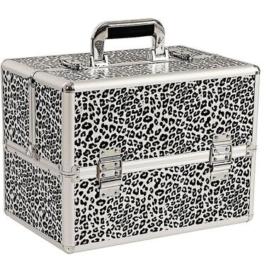 Salon Services Carina Beauty Box Medium Leopard