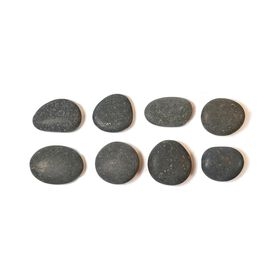 Vulsini Basalt Stones Pack of 8 - Large