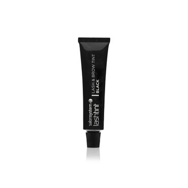 Salon System Professional Eyelash Tint Black 15ml