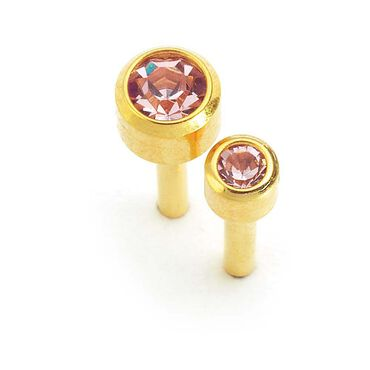 Caflon June Birthstone Ear Piercing Studs 12 pair pack