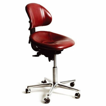 Beauty Express Support Stool Burgundy