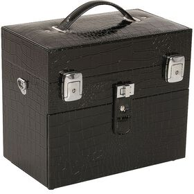 Salon Services Nail Polish Box Black