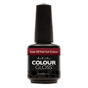 Artistic Colour Gloss Soak Off Gel Polish - Sinful 15ml