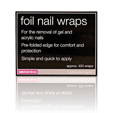 Salon Services Foil Nail Wraps Pack of 400