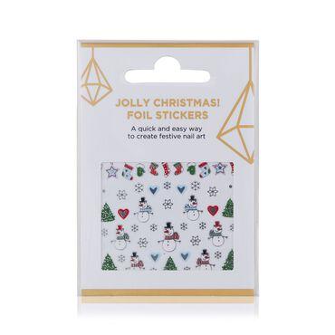 Beauty Secrets Nail Foil Stickers - Jolly Christmas