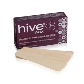 Hive of Beauty Disposable Spatulas Pack of 100