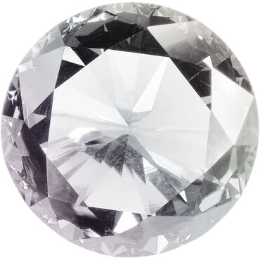 Star Nails Rhinestones Pack of 300 - Crystal