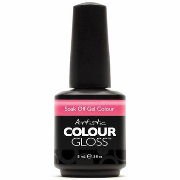 Artistic Colour Gloss Soak Off Gel Polish - Owned 15ml