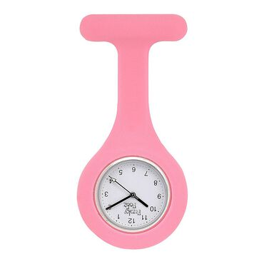 Funky Fobz Analogue Silicone Fob Watch Baby Pink