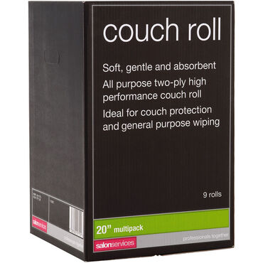 Salon Services Couch Roll 20 Inch - 9 Pack