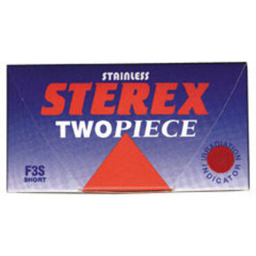 Sterex Stainless Two Piece Electrolysis Needles F3S Short