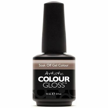 Artistic Colour Gloss Soak Off Gel Polish - Java Java 15ml