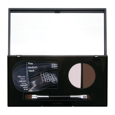 Hi Brow 24hr Brow Powder Compact Dark Brown