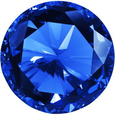 Star Nails Rhinestones Pack of 300 - Sapphire
