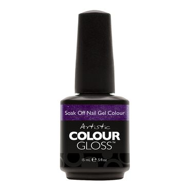 Artistic Colour Gloss Gel Polish Fall Moon Rising Collection - Dark Side 15ml