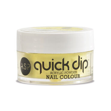 ASP Quick Dip Acrylic Dipping Powder Nail Colour - Wild Canary 14.2g