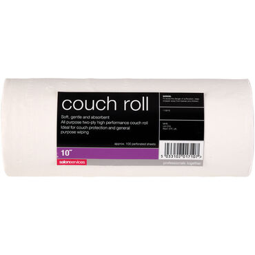 Salon Services Couch Roll 10 Inch