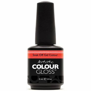 Artistic Colour Gloss Soak Off Gel Polish - Juiced 15ml