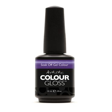 Artistic Colour Gloss Soak Off Gel Polish - Caviar for Breakfast 15ml