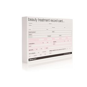 Salon Services Beauty Record Card 50 Pack