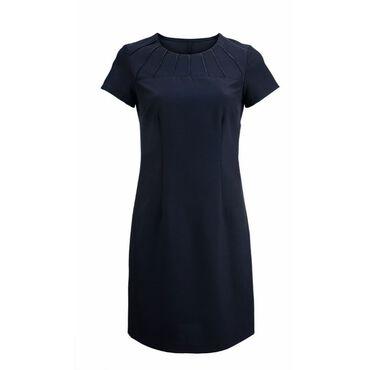Alexandra Women's Satin Trim Dress - Black