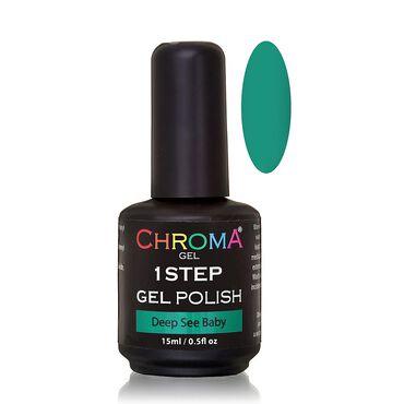 Chroma Gel One Step Gel Polish - Deep Sea Baby 15ml