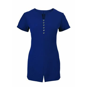 Alexandra Women's Notch Neck Tunic - Navy
