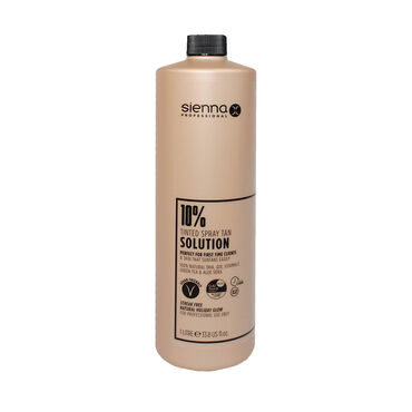 Sienna X Professional Tanning Solution 10% 1 Litre