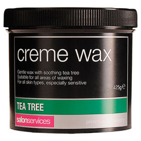 Salon Services Crème Wax Tea Tree 425g