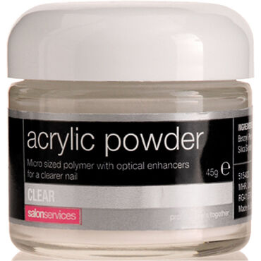 Salon Services Acrylic Powder Clear 45g