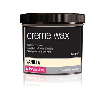 Salon Services Crème Wax Vanilla 425g