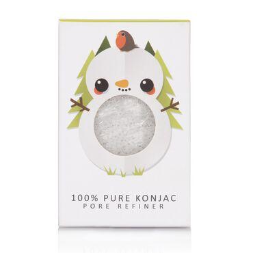 The Konjac Sponge Company Mini Fibre Facial Sponge - Snowman