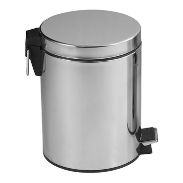 Bentley Brushware Stainless Steel Pedal Bin 12 Litre