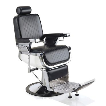 REM Emperor Barber's Chair Black