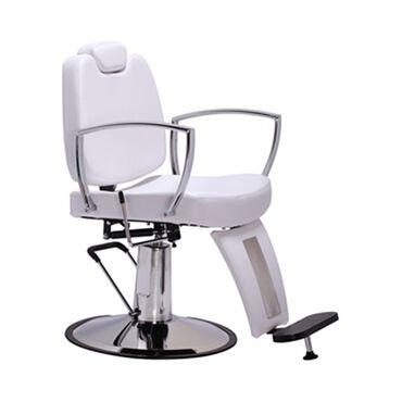 Salon Services Semplice Barber's Chair - White