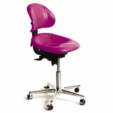 Beauty Express Support Stool Hot Pink