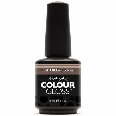 Artistic Colour Gloss Soak Off Gel Polish - Mocha Chino 15ml
