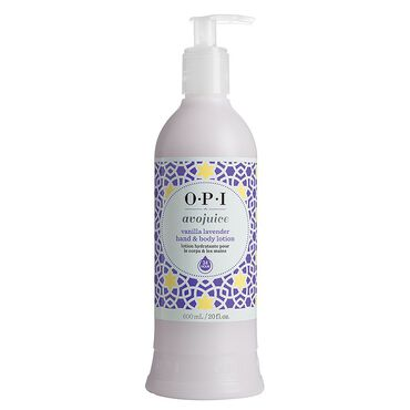 OPI Avojuice Hand and Body Lotion - Vanilla Lavender 600ml