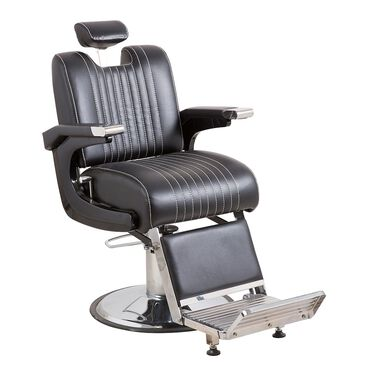 Salon Services Lomond Barber Chair - Black