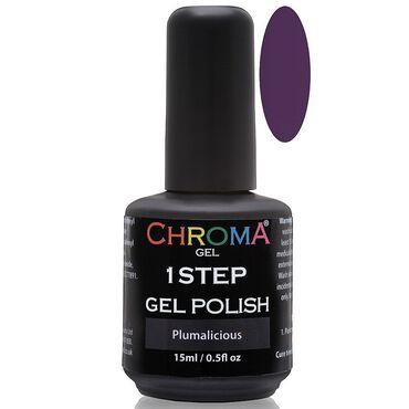 Chroma Gel One Step Gel Polish - Plumalicious 15ml