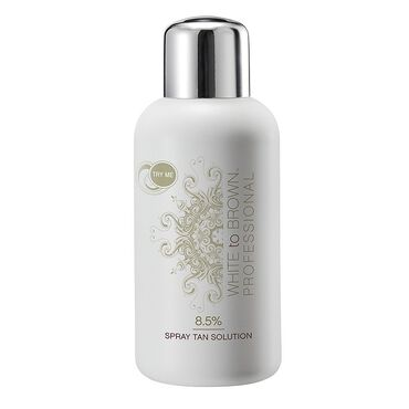 Whitetobrown Professional 8.5% Spray Tan Solution 250ml