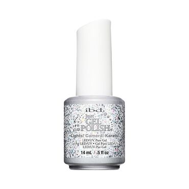 IBD Just Gel Polish Tinsel Town Collection - Lights Camera Karate 14ml