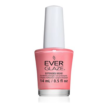 China Glaze EverGlaze Extended Wear Nail Polish - What's the Coral-ation? 14ml