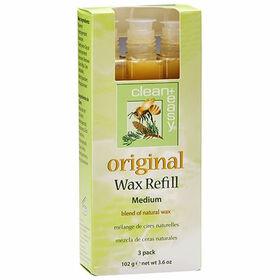Clean & Easy Original Wax Refill Pack of 3 Medium 102g