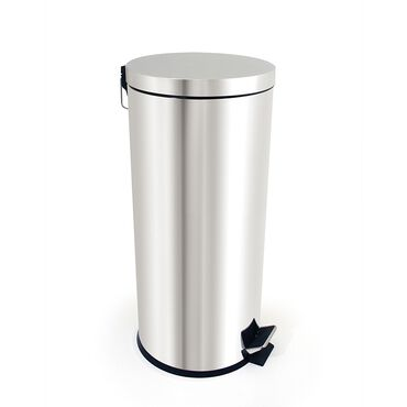Bentley Brushware Stainless Steel Pedal Bin 30 Litre
