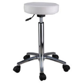 Salon Services Amazon Stool, White
