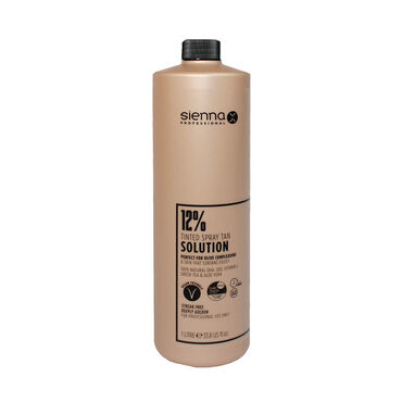 Sienna X Professional Tanning Solution 12% 1 Litre